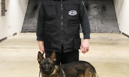 TOMS RIVER: K9 Receives Bullet & Stab Protective Vest from Charity!