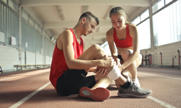TOMS RIVER: Leg Injury
