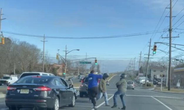 ISLAND HEIGHTS: NEW Video Surfaces of Today's Route 37 Fight! Roundhouse Kicks?