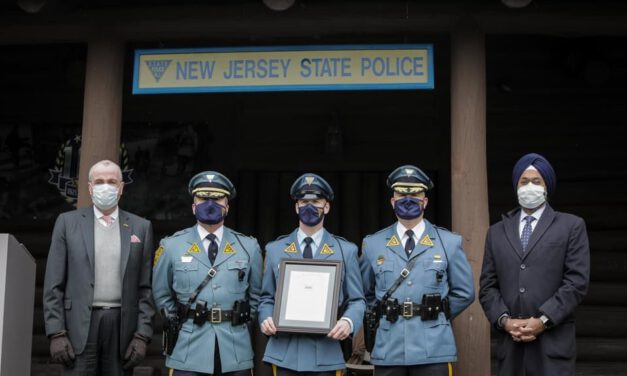 Congratulations to NJSP Trooper of the Year: Det. Hershey & Maj. Della Fave
