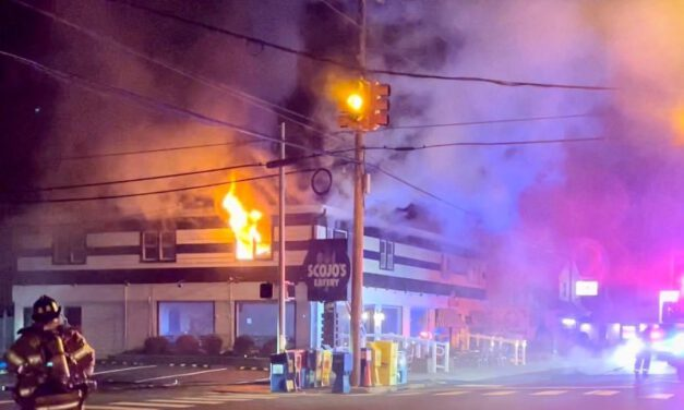 LBI: Early Morning Fire Held to Second Floor- Damages Scojos Restaurant