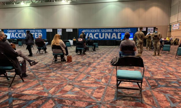ATLANTIC CITY: Convention Center Becomes Vaccine Depot- Reader Shares Her Story of Getting Stuck