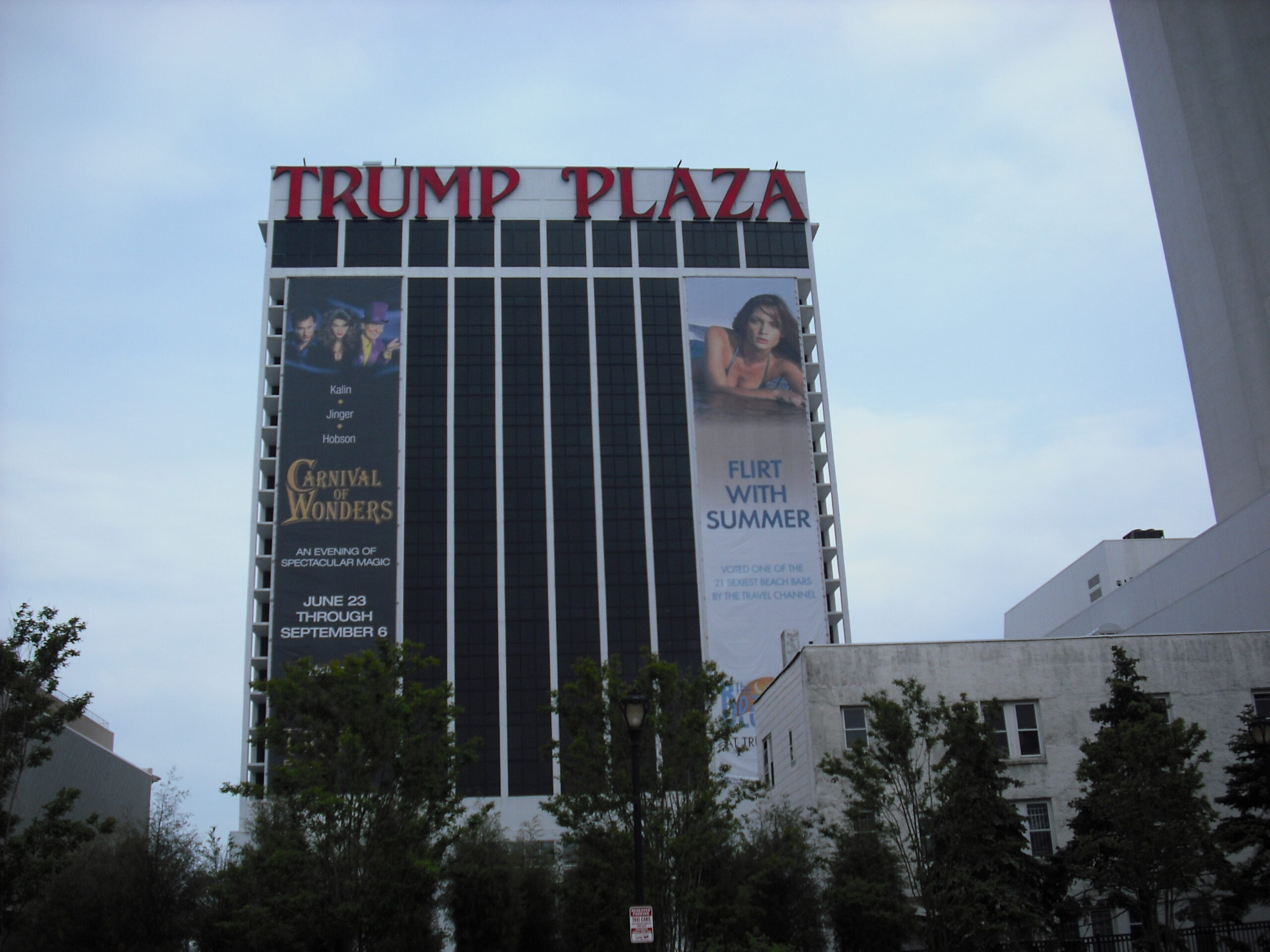 ATLANTIC CITY: A Historical Look Back at Trump Plaza Hotel & Casino