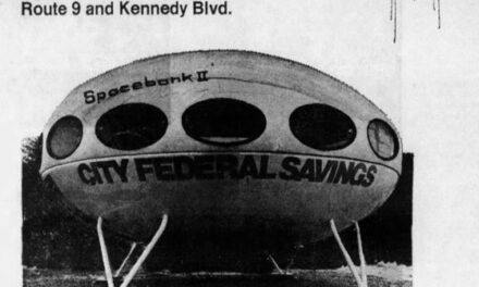 TOMS RIVER: A Brief History of Futuro Houses/ Bank Branches/ Welcome Centers in Ocean County