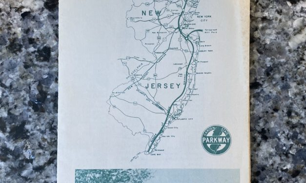 GSP: 1979 Map & Safety Pamphlet Brings You Back When Tolls were a Quarter!