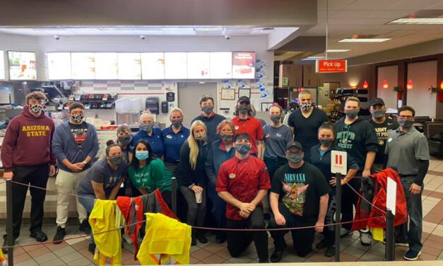 BRICK: Local Chick-Fil-A Staff Cook and Deliver Food to First Responders Yesterday; On Their Day Off!