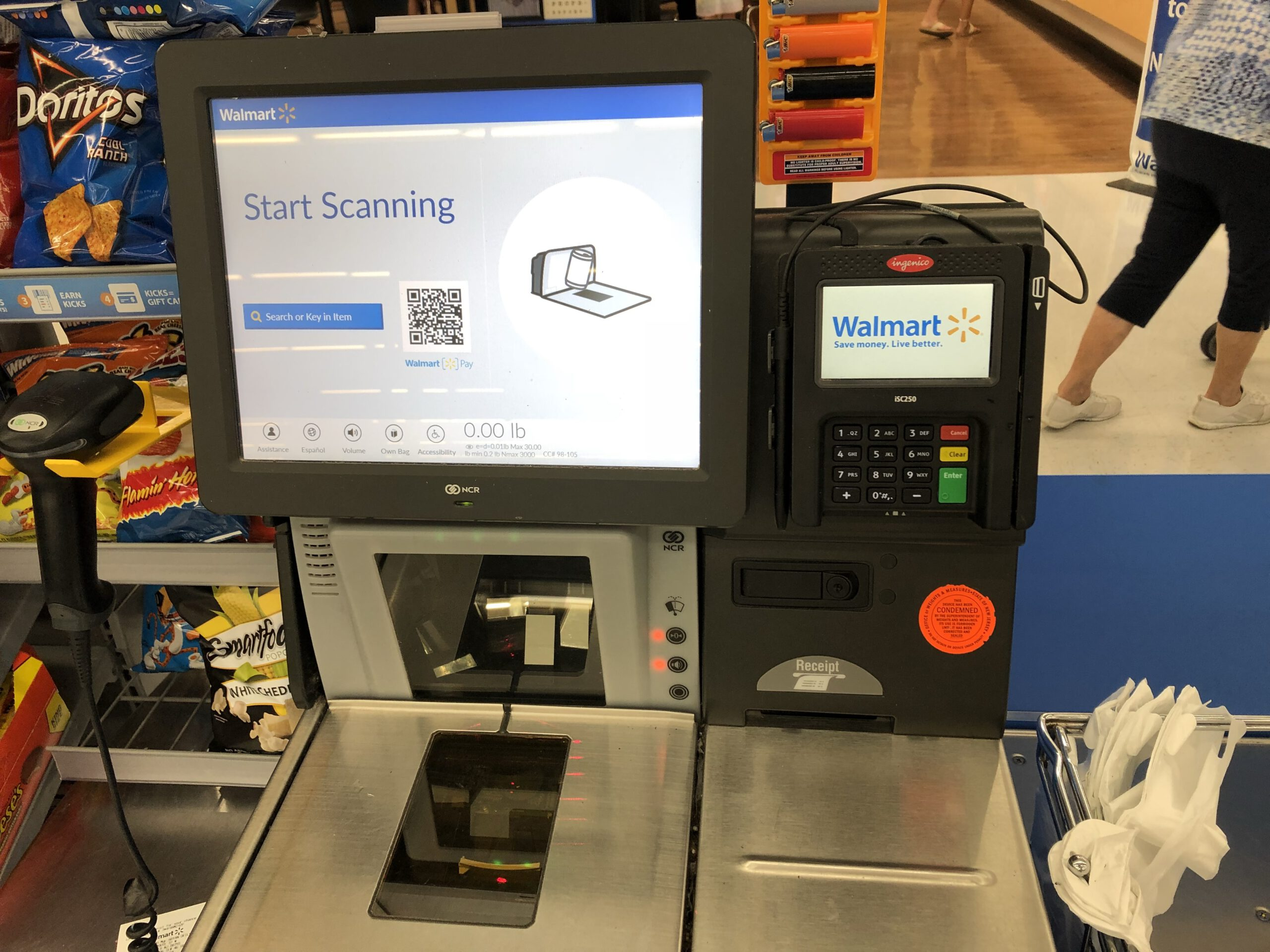 LACEY: Four Separate Female Suspects Steal from Walmart SElf-Checkout