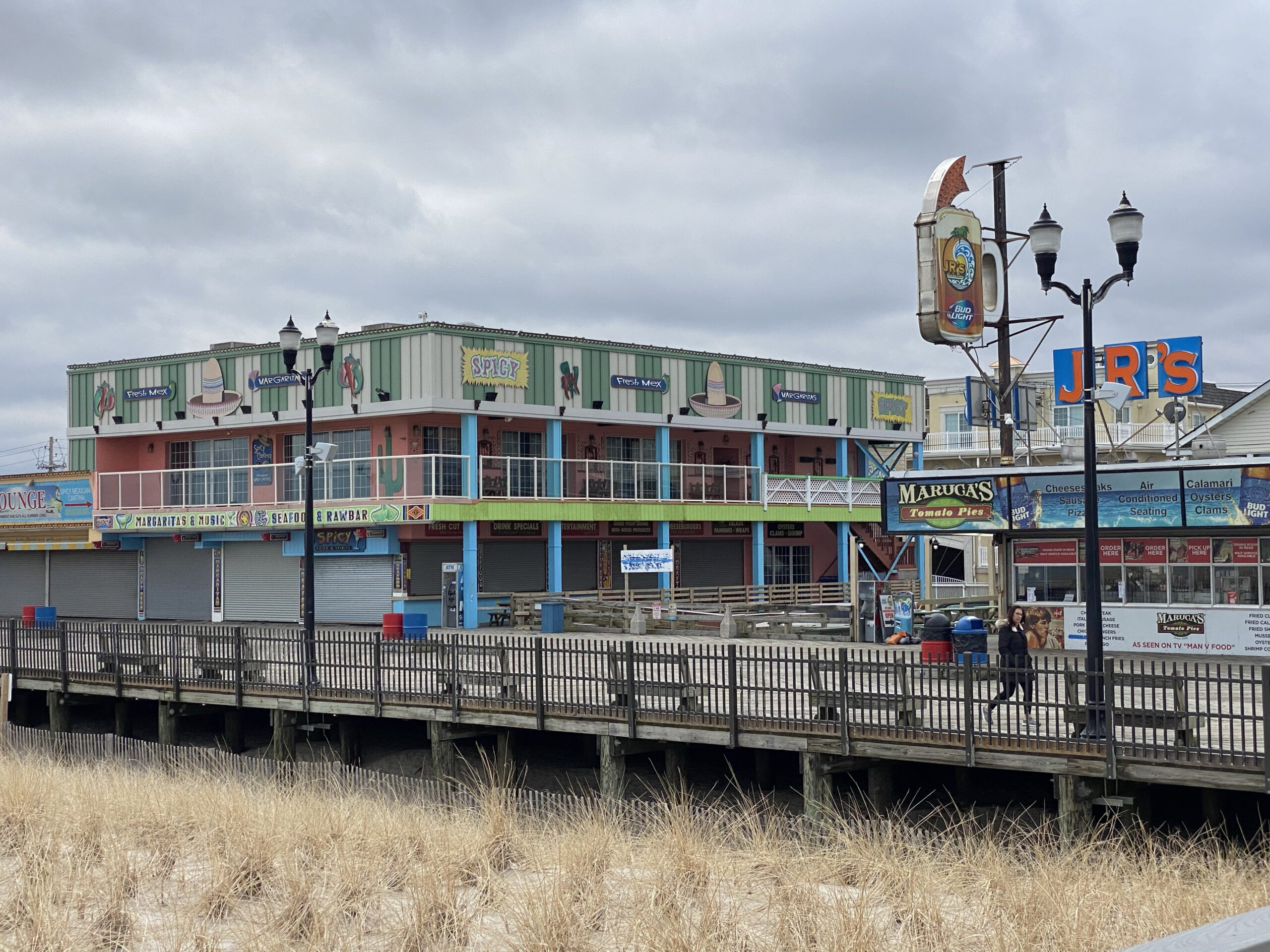 SEASIDE HEIGHTS: A Quite Spicy Patron at Spicy's!