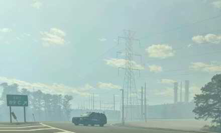 LAKEWOOD: BALE OF HAY ON FIRE