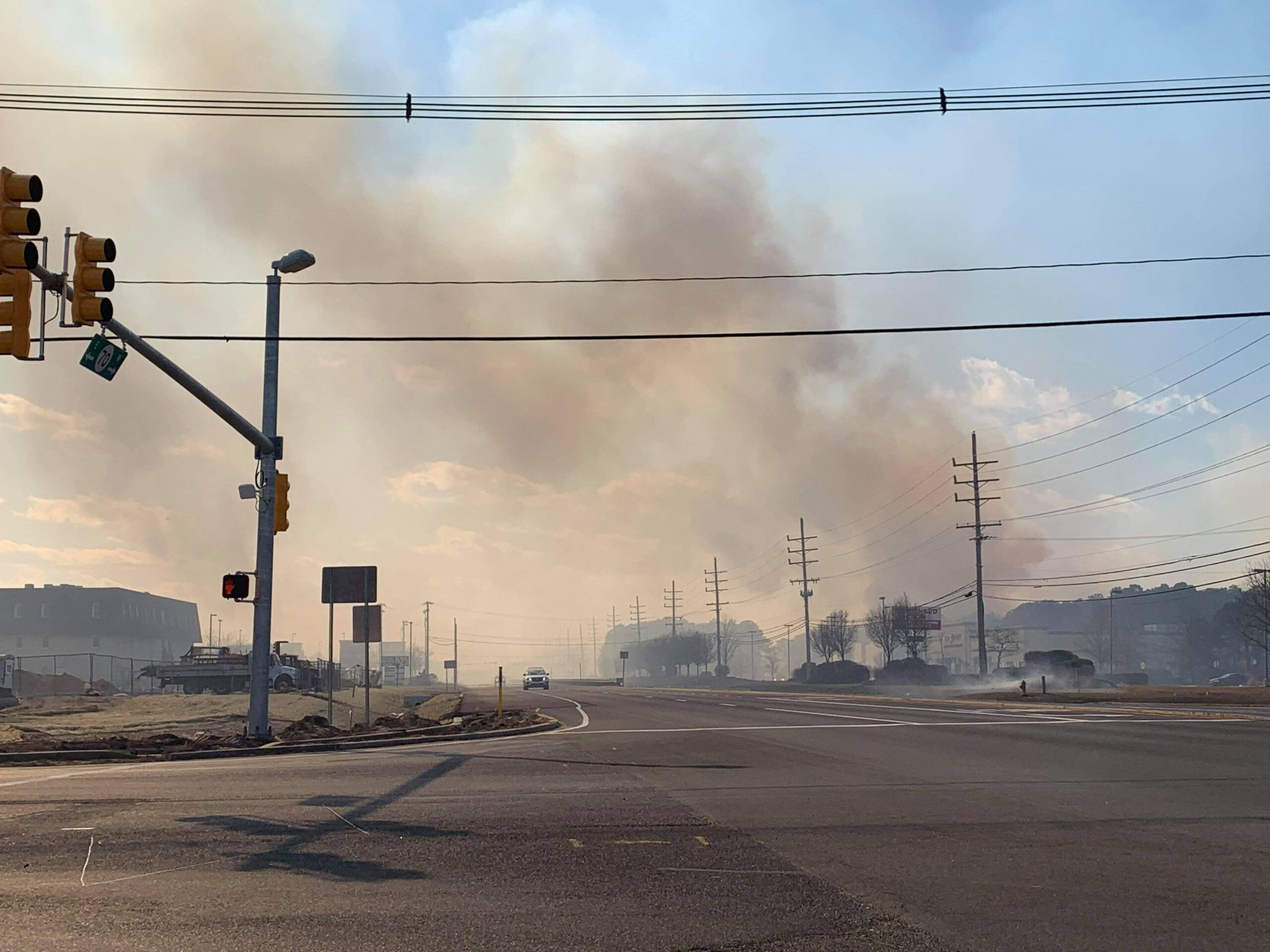 OCPO: Sunday's Massive Brush Fire was Intentionally Set- 167 Acres Burned
