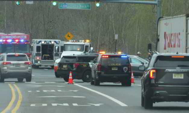 FREEHOLD: Motor Vehicle Crash with Smoking Vehicle