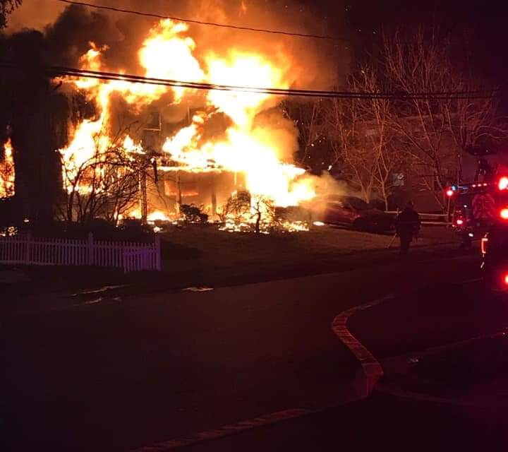 JACKSON: 2nd Alarm Fire on Lehigh Results in Unconfirmed Fatality- Possible Arson