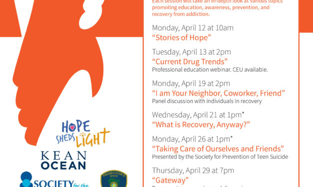 TOMS RIVER: Join OCC on April 12 to Learn More About Addiction & Individuals Whom have Recovered