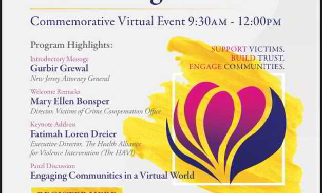 OCPO: New Jersey Victims' Rights Week- Virtual Event on Friday