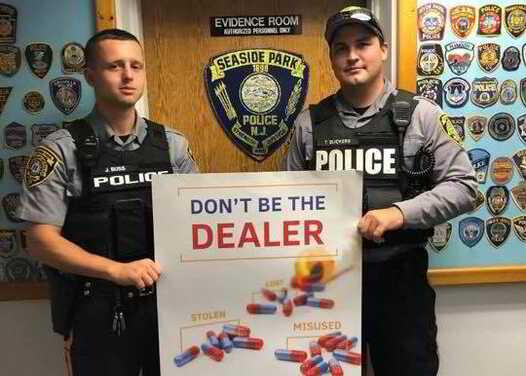PINE BEACH: CALLER SNITCHES ON DRUG DEAL: BALD GUY FLEES CORNER