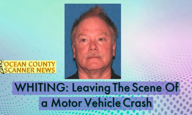 WHITING: Detained For LEaving The Scene of a Fatal Motor Vehicle Accident