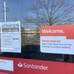 TOMS RIVER: Santander on Fischer- Temporarily Closed?