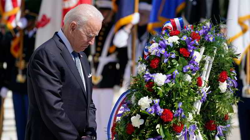 President Biden Commemorates Our Fallen Veterans
