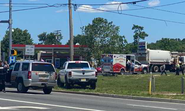 TOMS RIVER: Motorcyclist Suffers Severed Leg After Car Turns in Front of Him on Whitesville