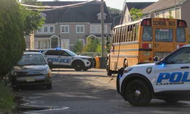 Lakewood: Wires Down on School Bus