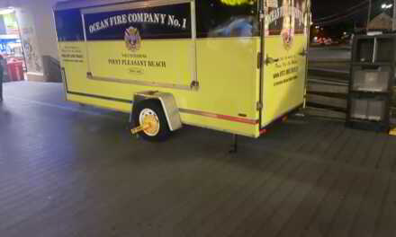 Point Pleasant Beach Fire Department Trailer Gets The Boot