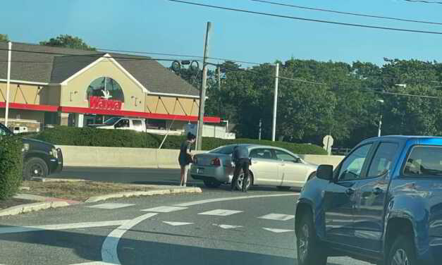 BRICK TWP POLICE ASSIST MOTORIST OUT OF GAS