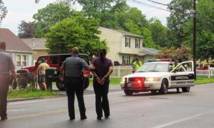 Brick: Car vs Pole with Arrest