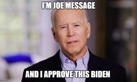 Joe Biden Reads Answers To Questions Off Note Card Before Screen Blacks Out