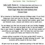 Ocean Gate EMS Christmas in July Pet and Vendor Fair 2021