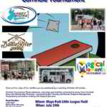 Beachwood: Cornhole Tournament at Mayo Park Today