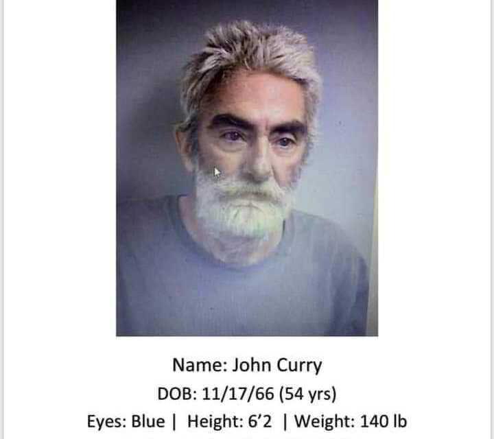 STILL MISSING: JOHN CURRY