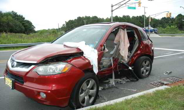 Two Vehicles Collide on Route 37; One Driver Extricated and Airlifted to Trauma Center
