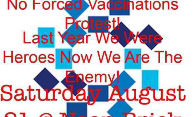 Protests Scheduled Today At Brick Hospital Due To Forced Covid Vaccinations