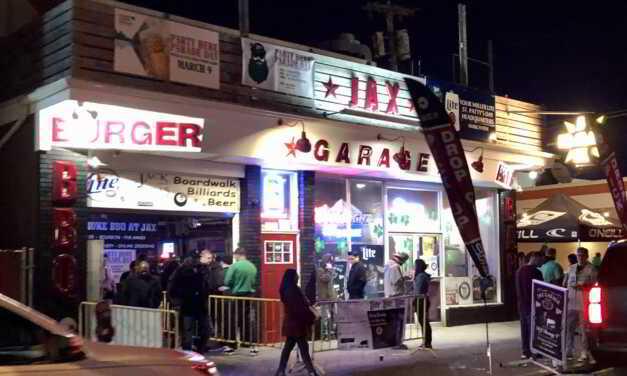 SEASIDE HEIGHTS: DISTURBANCE @ JAX GARAGE LEADS TO SUSPECT ASSAULTING COPS
