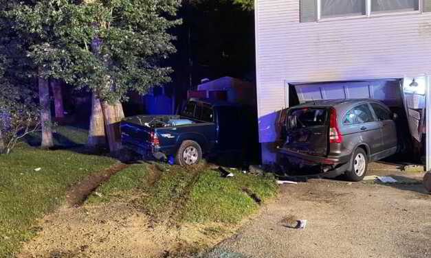 Alexis Connotillo Wanted For Leaving The Scene of Accident That Sent Car Through House
