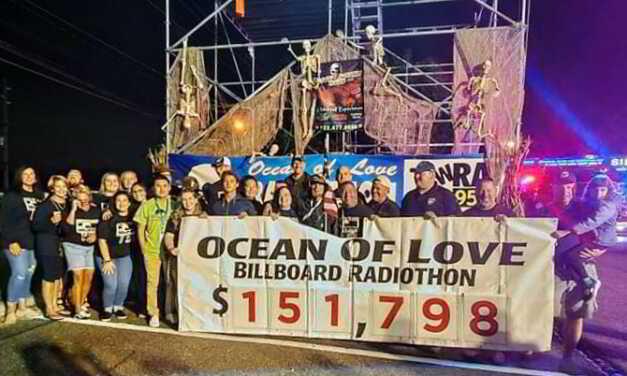 Toms River: Ocean of Love/Wrat Radiothon Donation Total