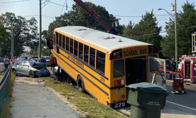 Serious MVA In Lakewood Involving School Bus