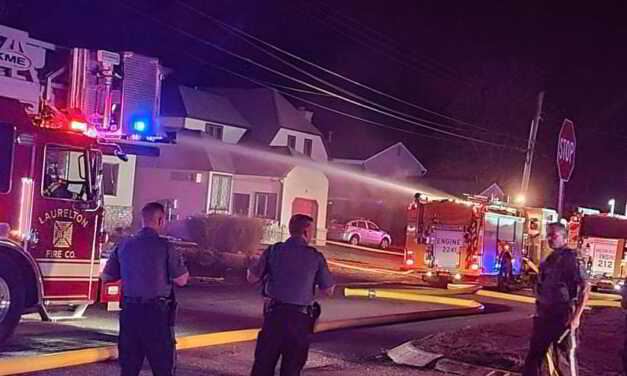 Fire Rekindled in Brick Causing Fire Department To Respond