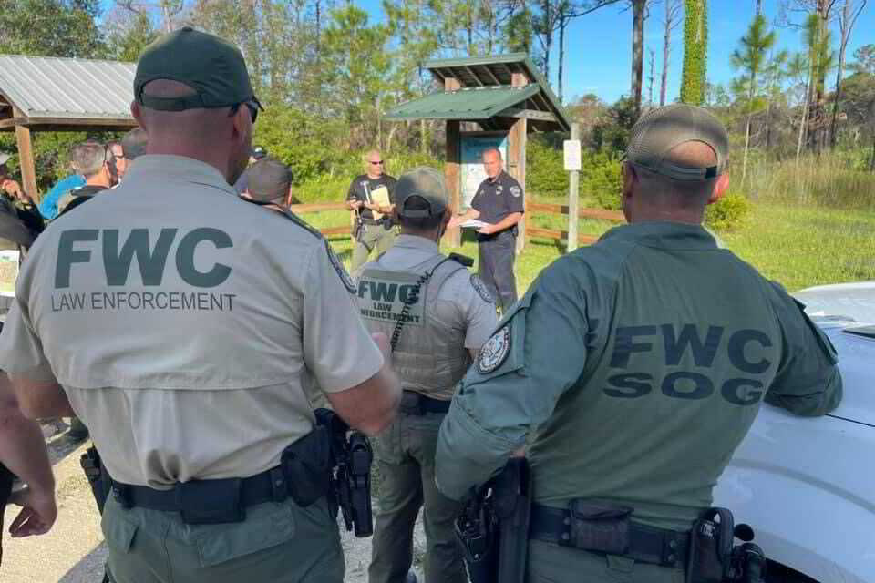 Numerous Agencies Assisting in Locating Brian Laundrie Through Gator Infested Swamps