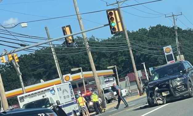 Multi Vehicle Accident Involving Police Car