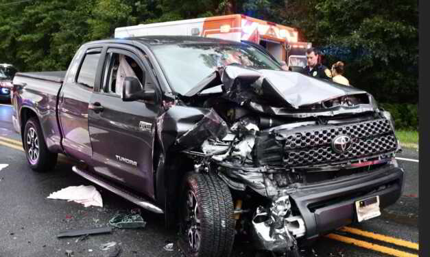 Medical Episode Causes 4 Car Collision on Route 9 in Stafford