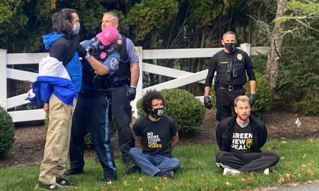 12 Climate Change Protesters Arrested After Occupying NJ Congressman's Driveway